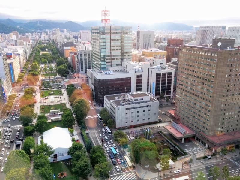札幌テレビ塔 西側の窓から3