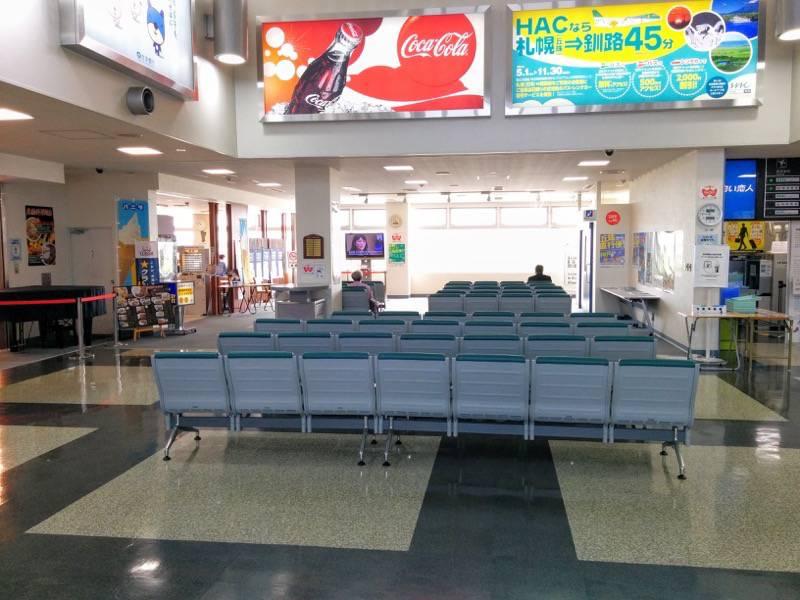 丘珠空港 待合室2