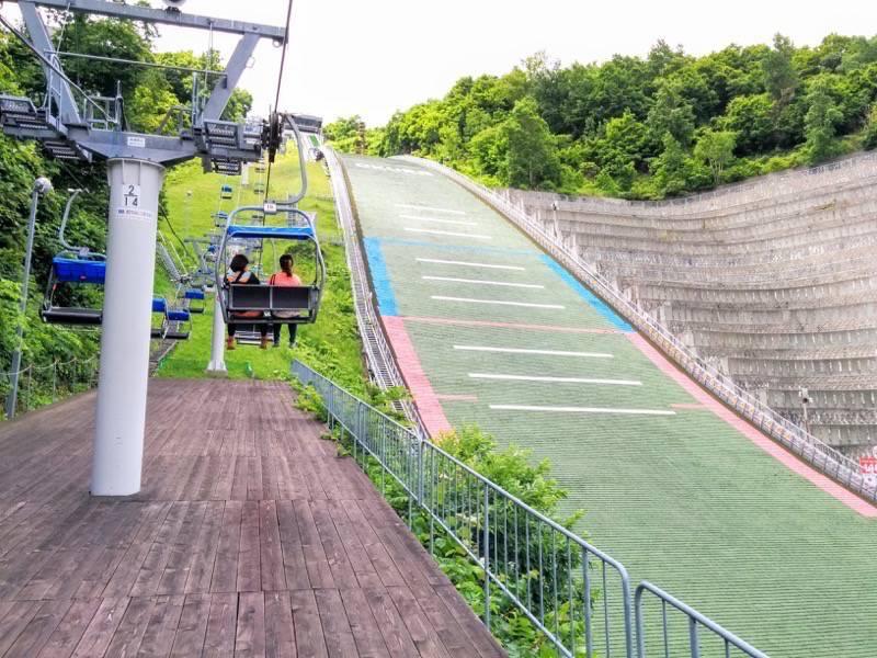 大倉山ジャンプ競技場 ジャンプ台4