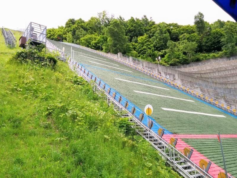 大倉山ジャンプ競技場 ジャンプ台7