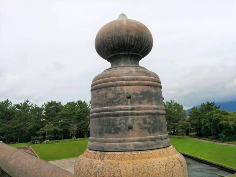石橋記念公園 西田橋擬宝珠