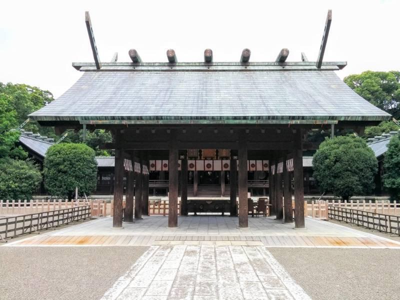 宮崎神宮 拝所