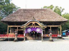 青井阿蘇神社−拝殿