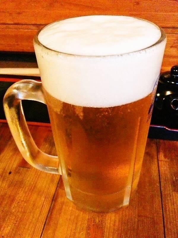 地どり屋修ちゃん ビール
