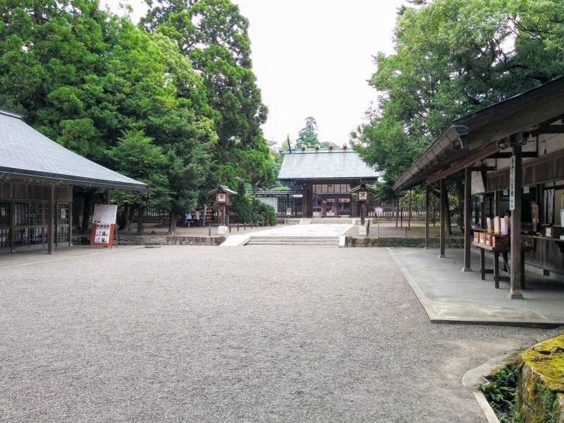 宮崎神宮 参道8