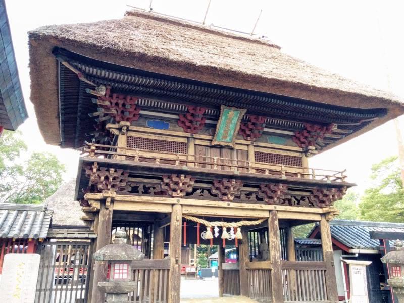 青井阿蘇神社 楼門2