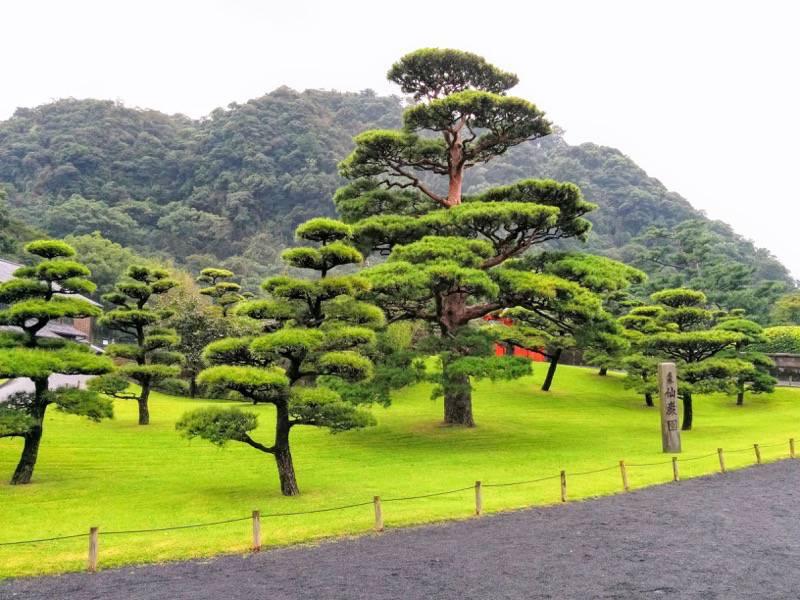 仙巌園 庭園1