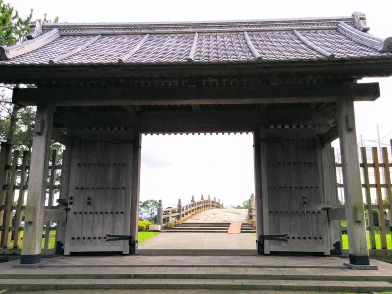 石橋記念公園 西田橋御門4