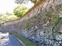 人吉城−武者返しの石垣