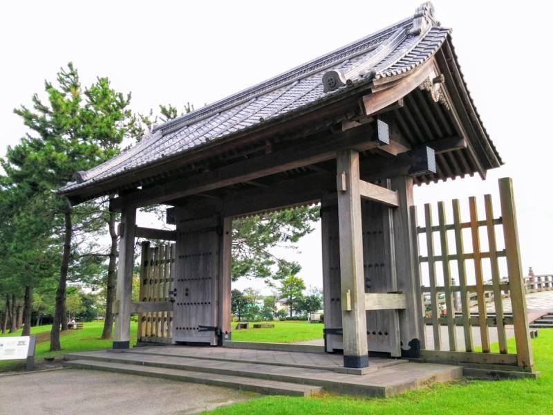 石橋記念公園 西田橋御門5