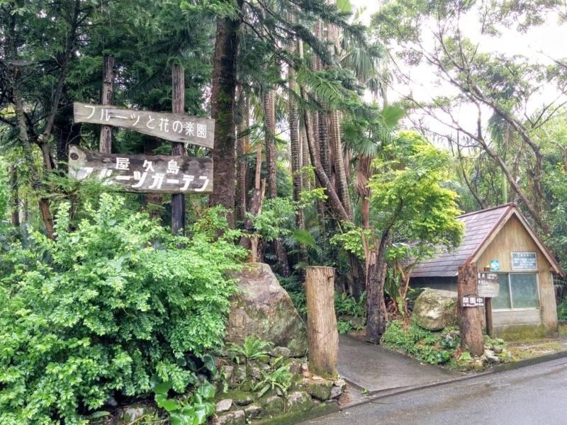 屋久島フルーツガーデン 入口