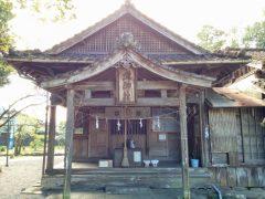 老神神社−御社殿