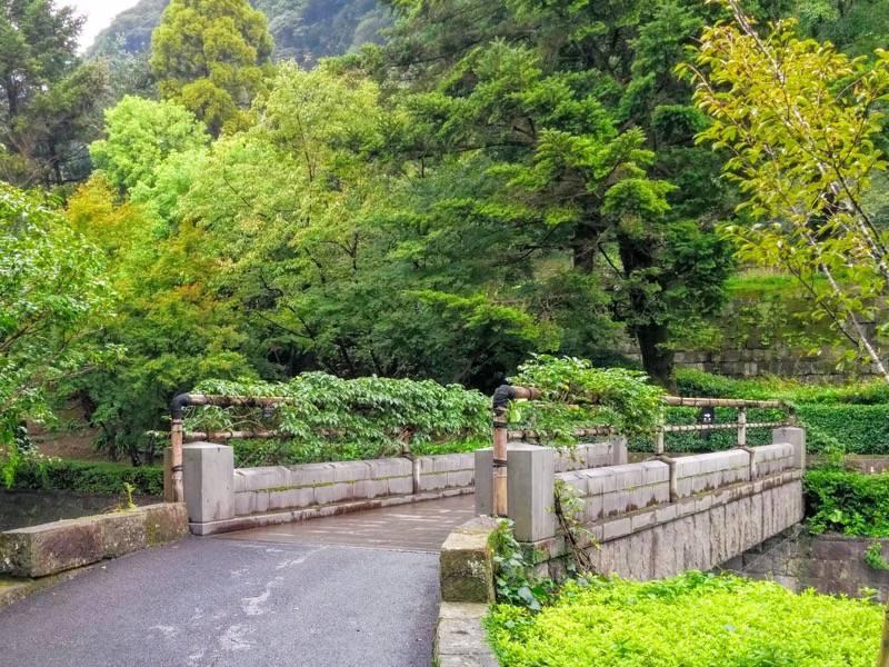 仙巌園 祥福橋