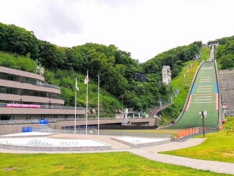 大倉山ジャンプ競技場 ジャンプ台2