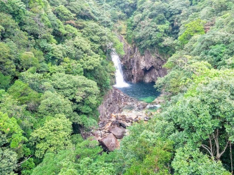竜神の滝 滝2