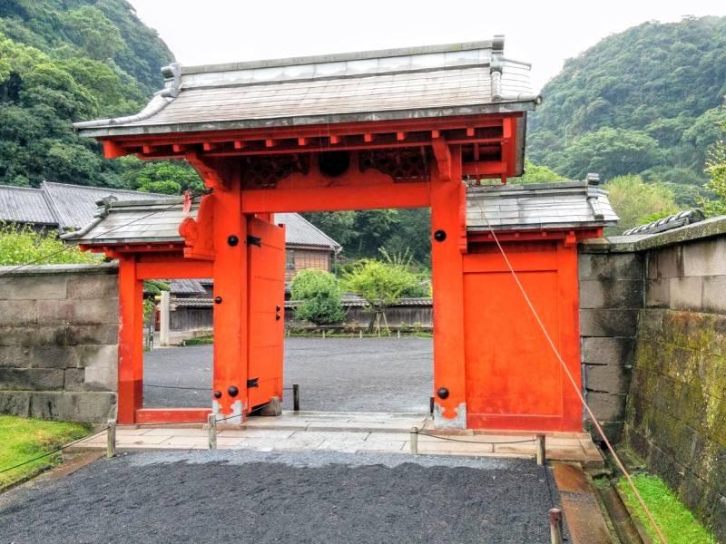 仙巌園 錫門2