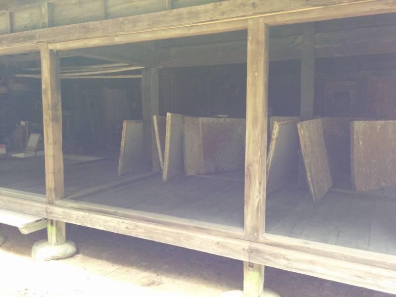 米良の民家内部1