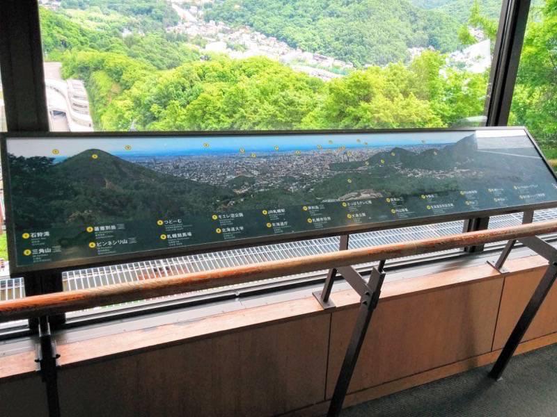 大倉山ジャンプ競技場 景観図