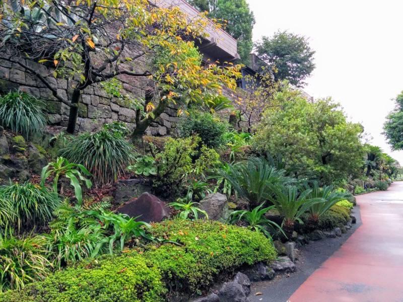 仙巌園 石垣