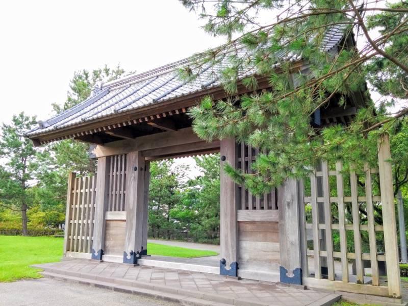 石橋記念公園 西田橋御門3
