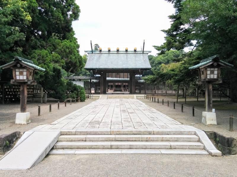 宮崎神宮 正門1