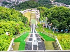 大倉山ジャンプ競技−ジャンプ台