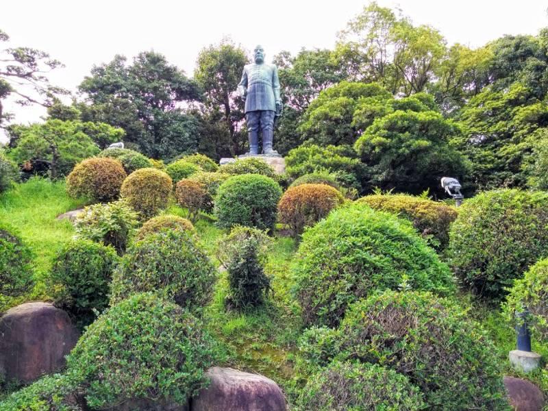 西郷隆盛像 銅像2