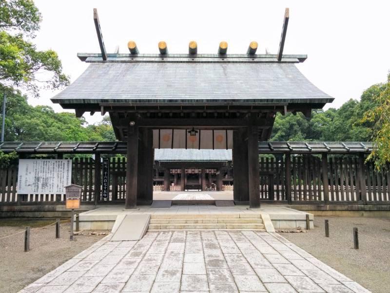 宮崎神宮 正門2
