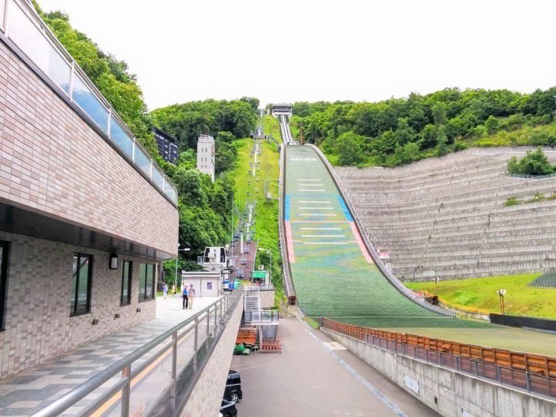 大倉山ジャンプ競技場 ジャンプ台3