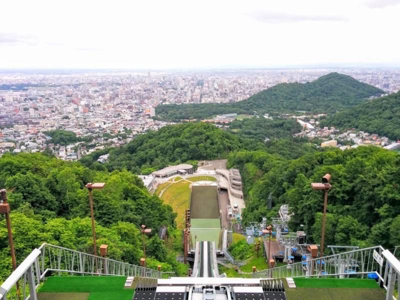 大倉山ジャンプ競技場 ジャンプ台からの眺め6