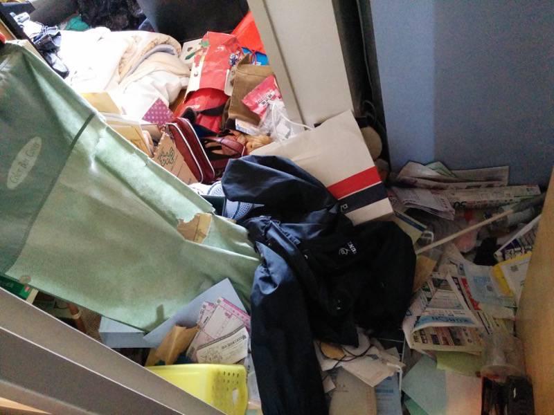 熊本地震後の家