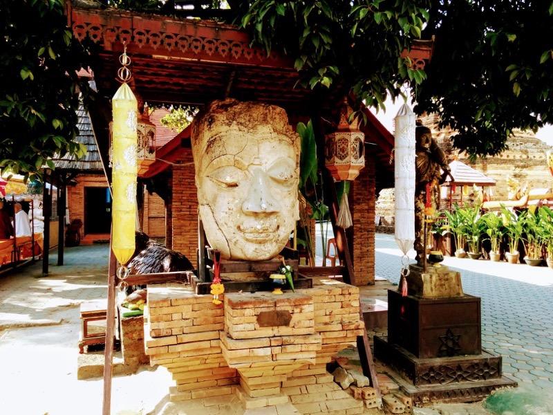 18仏像のお顔