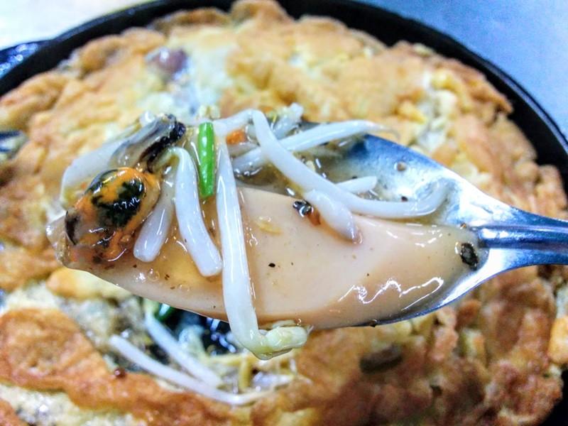 09海鮮と野菜の玉子とじ