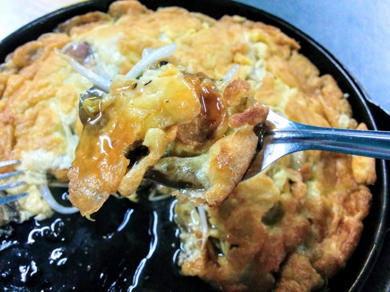 11海鮮と野菜の玉子とじ