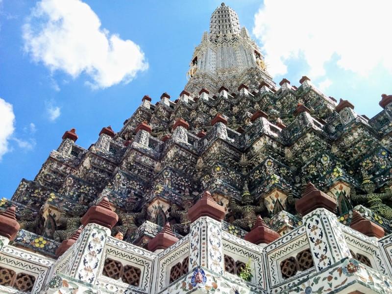 26大仏塔の装飾