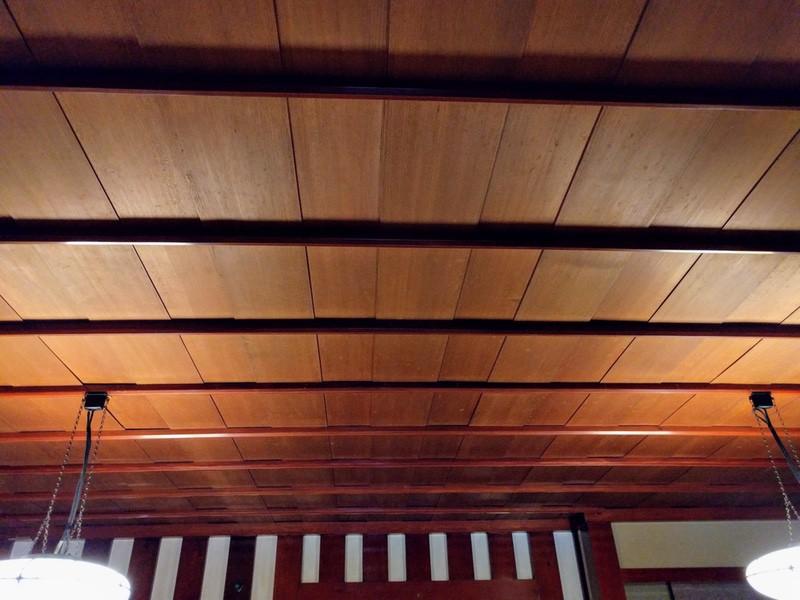 23お座敷の天井