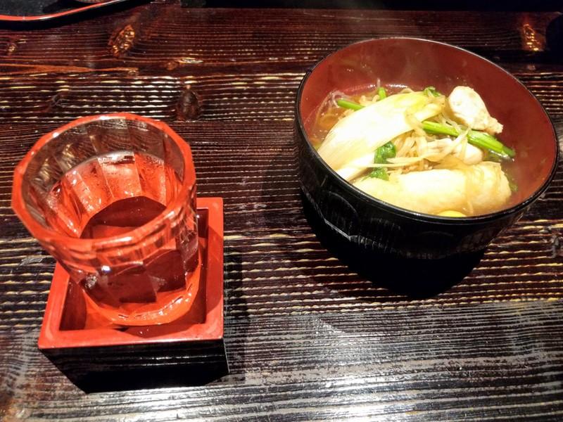 18きりたんぽ鍋とお酒