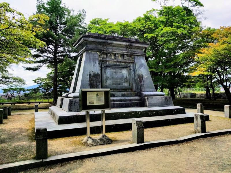 16南部中尉銅像台座