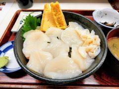 丸青食堂−ホタテ丼