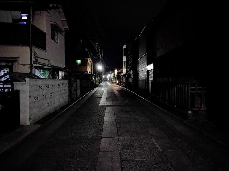 09夜の足利の街6