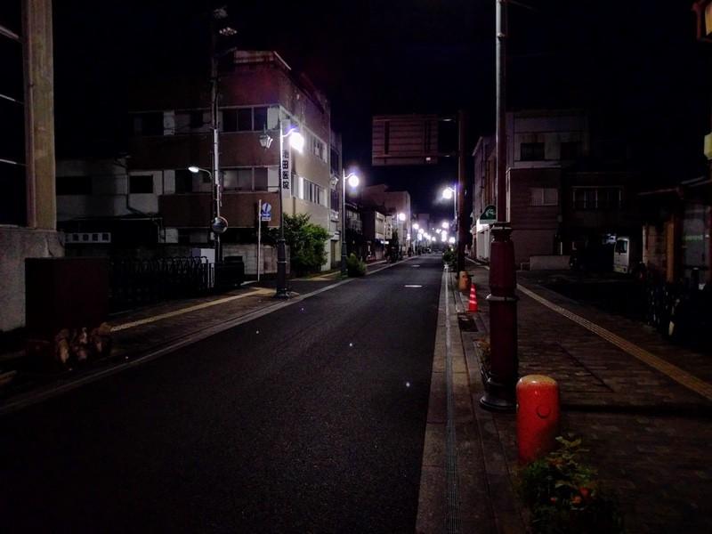 09夜の足利の街5