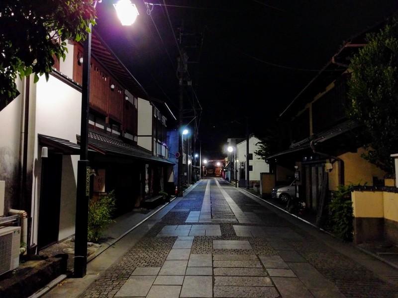 09夜の足利の街7