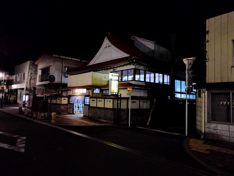 09夜の足利の街3