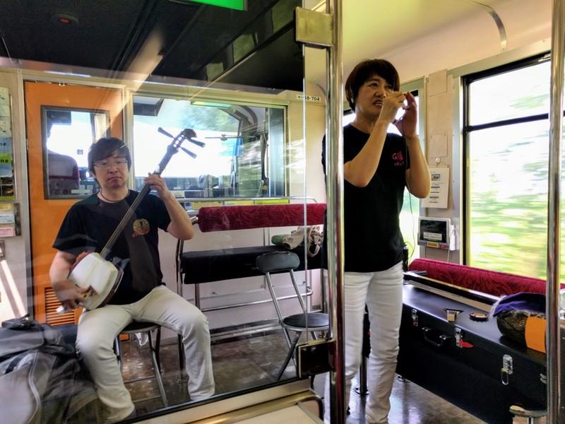 14津軽三味線生演奏