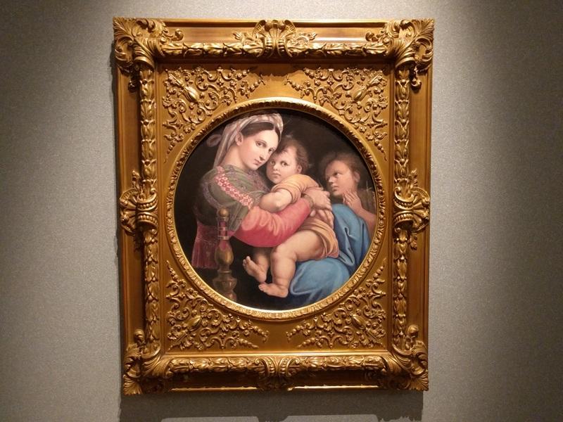 16ラファエロ小椅子の聖母