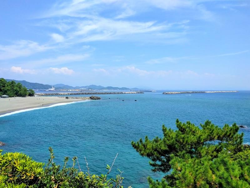 16龍王岬から桂浜