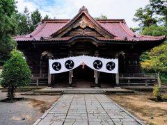 日枝神社拝殿