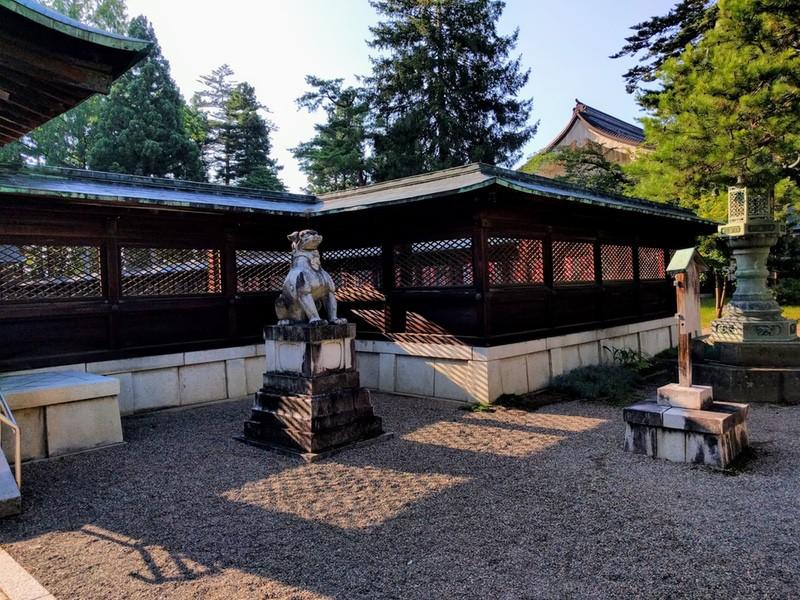 21上杉神社狛犬さん