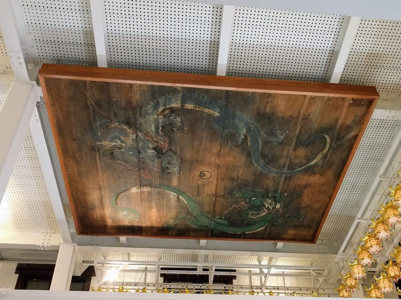 32天井の龍の絵