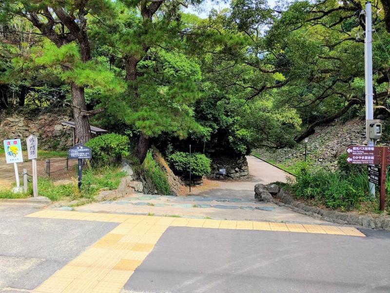 14鶴の門跡